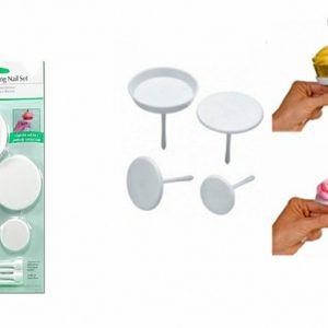 DECORATING NAIL SET - PLASTIC