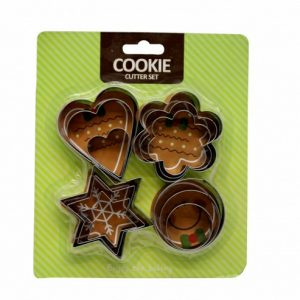 Cookie Cutter ss 4 Set