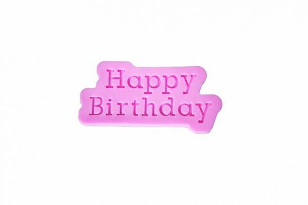 Happy Birthday Silicone Mat
